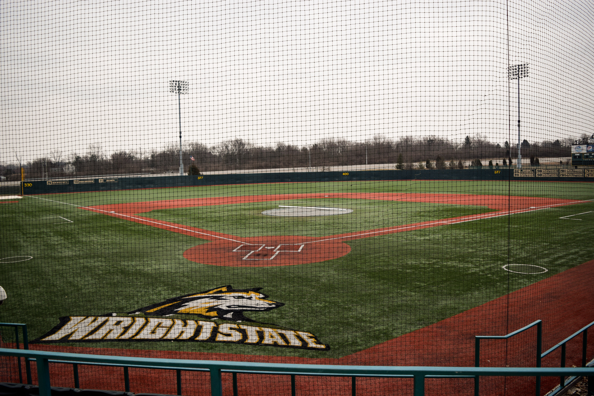Wright State Baseball Field | Photo by Jessica Fugett | The Wright State Guardian