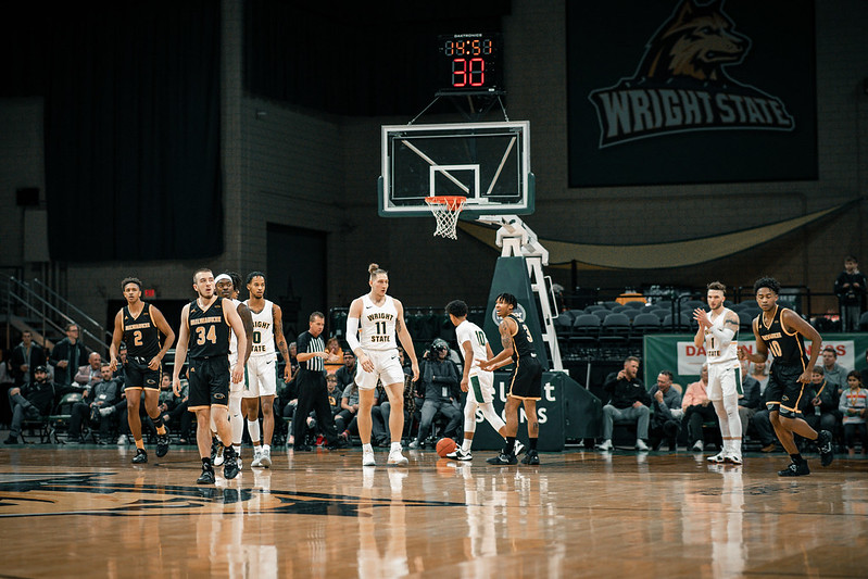 Wright State Men's Basketball, Loudon Love returns | Photo by Soham Parikh | The Wright State Guardian
