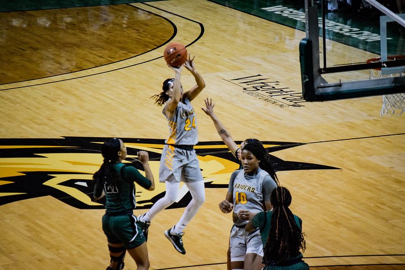 WSU vs. Cleveland State Women's Basketball   Photo by Jessica Fugett   The Wright State Guardian