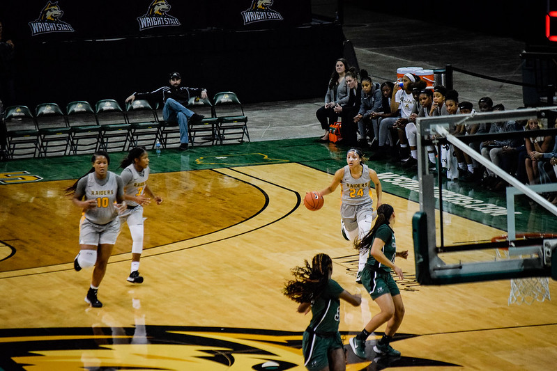 WSU vs. Cleveland State Women's Basketball | Photo by Jessica Fugett | The Wright State Guardian