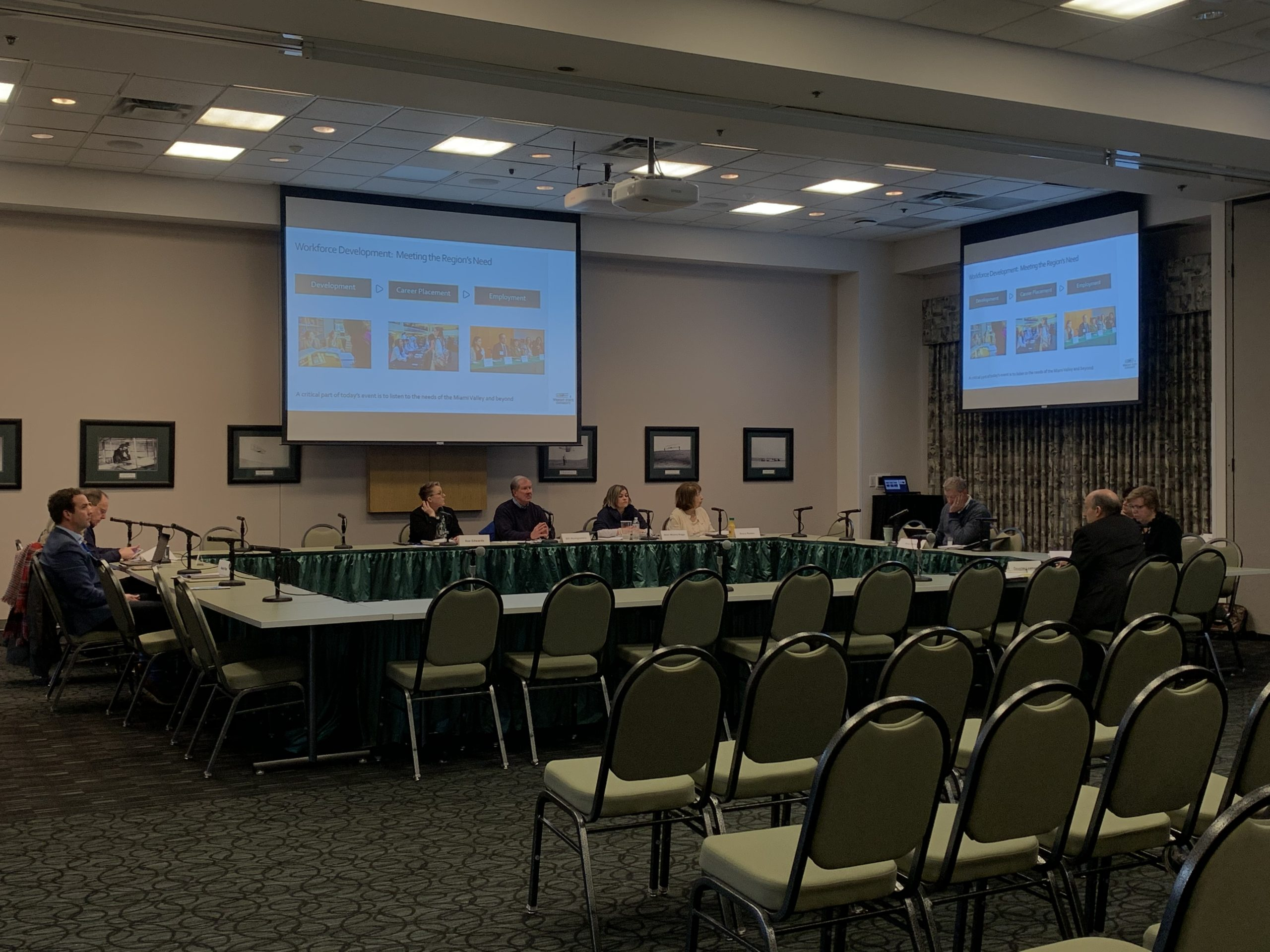 Wright State Board of Trustees committee day on Thursday Feb 20 | Photo by Sarah Cavender | The Wright State Guardian