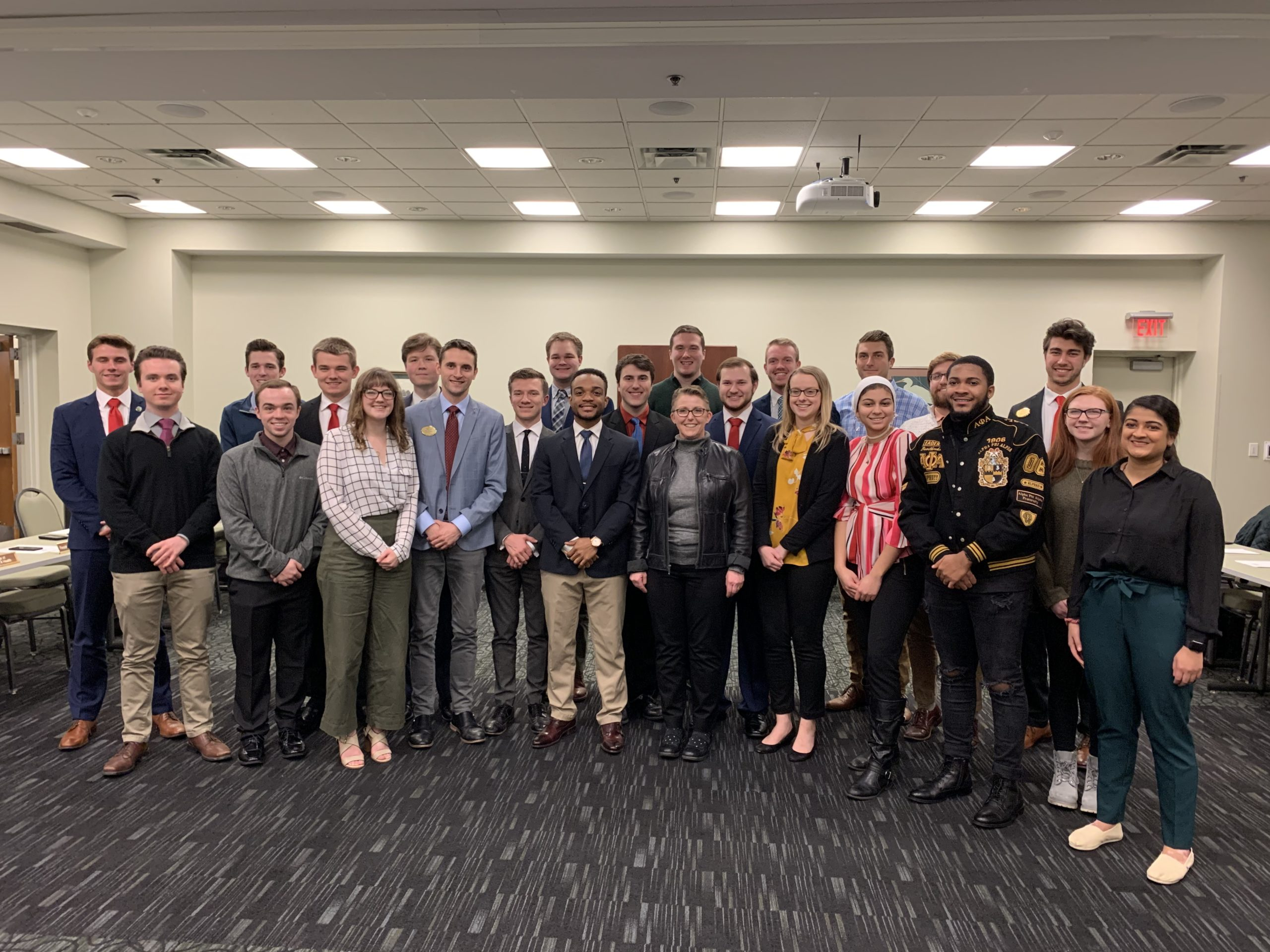 SGA Meeting on Feb 4, 2019 | Photo by Dylan Collison | The Wright State Guardian