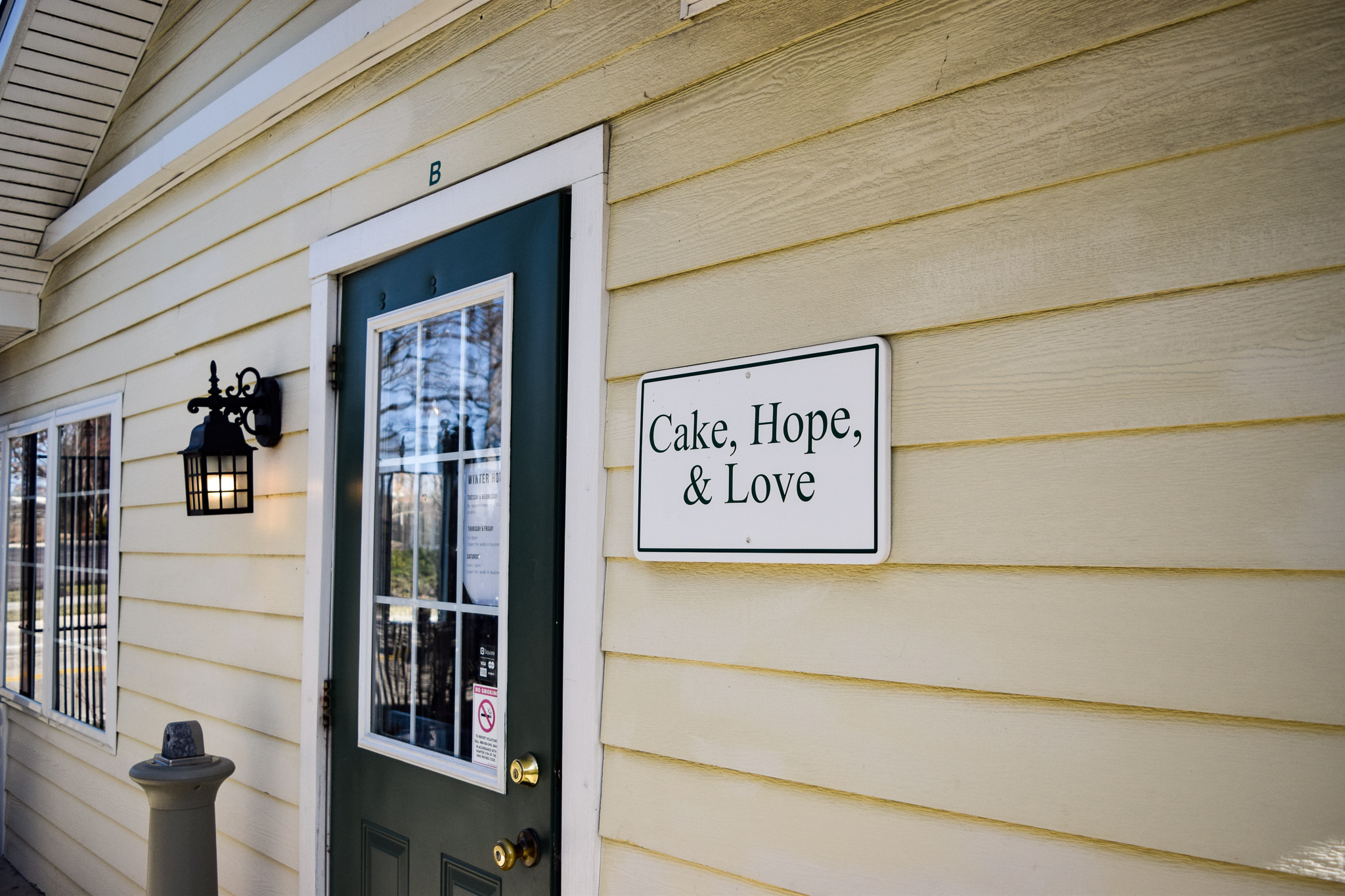 Cake, Hope & Love | Photo by Jessica Fugett | The Wright State Guardian