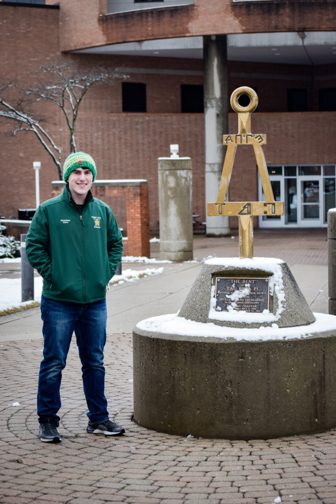 Jonathan Ciero | Photo by Jessica Fugett | The Wright State Guardian