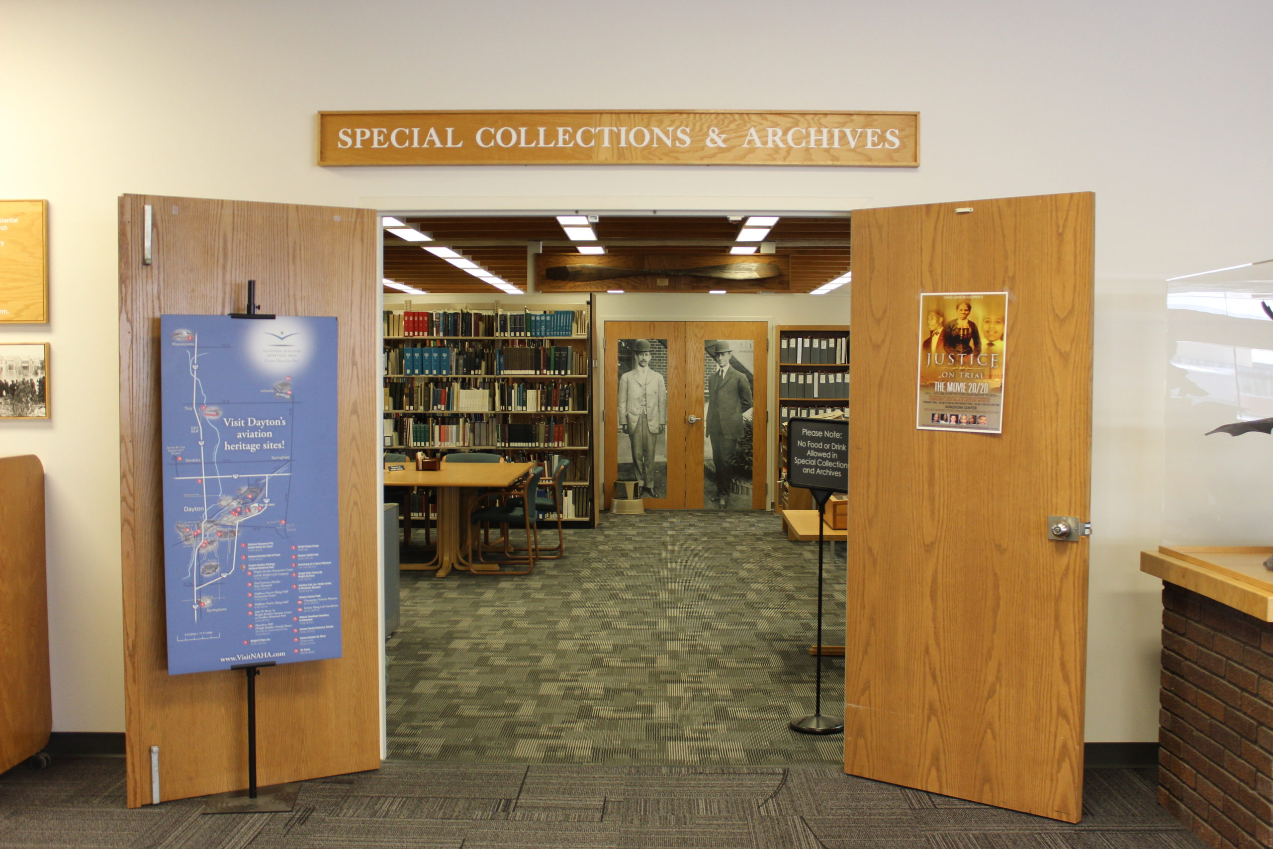 Paul Dunbar Library Archives | Photo by Daniel Delgado | The Wright State Guardian