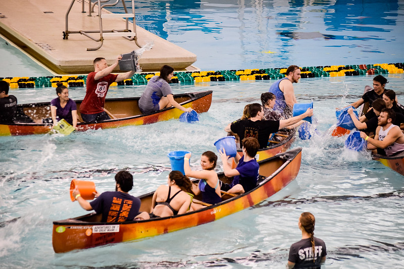 Canoe Battleship | Photo by Jessica Fugett | The Wright State Guardian