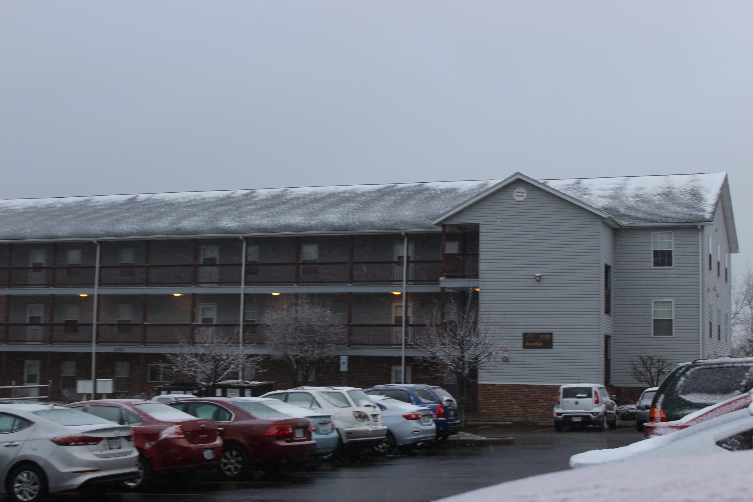 WSU on campus apartments | Photo by Daniel Delgado | The Wright State Guardian