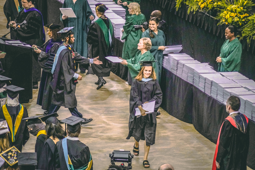 Wright State University graduation ceremony | Photo by Soham Parikh