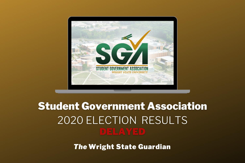 SGA ELECTION RESULTS delayed