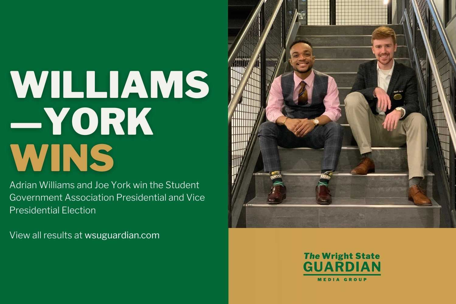 Williams-York Win SGA Election
