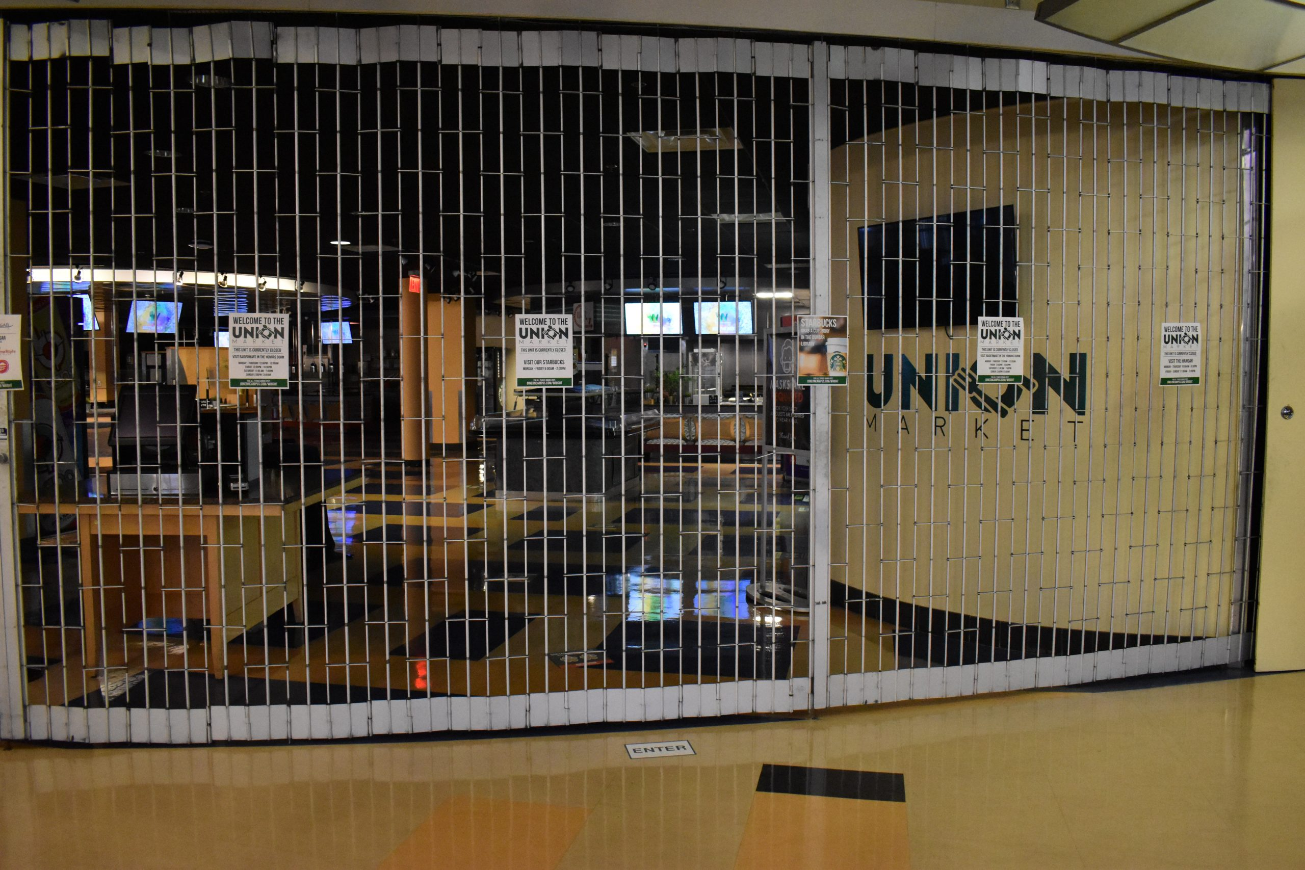Union Market Closed | Photo by Grace Ramsdell | The Wright State Guardian