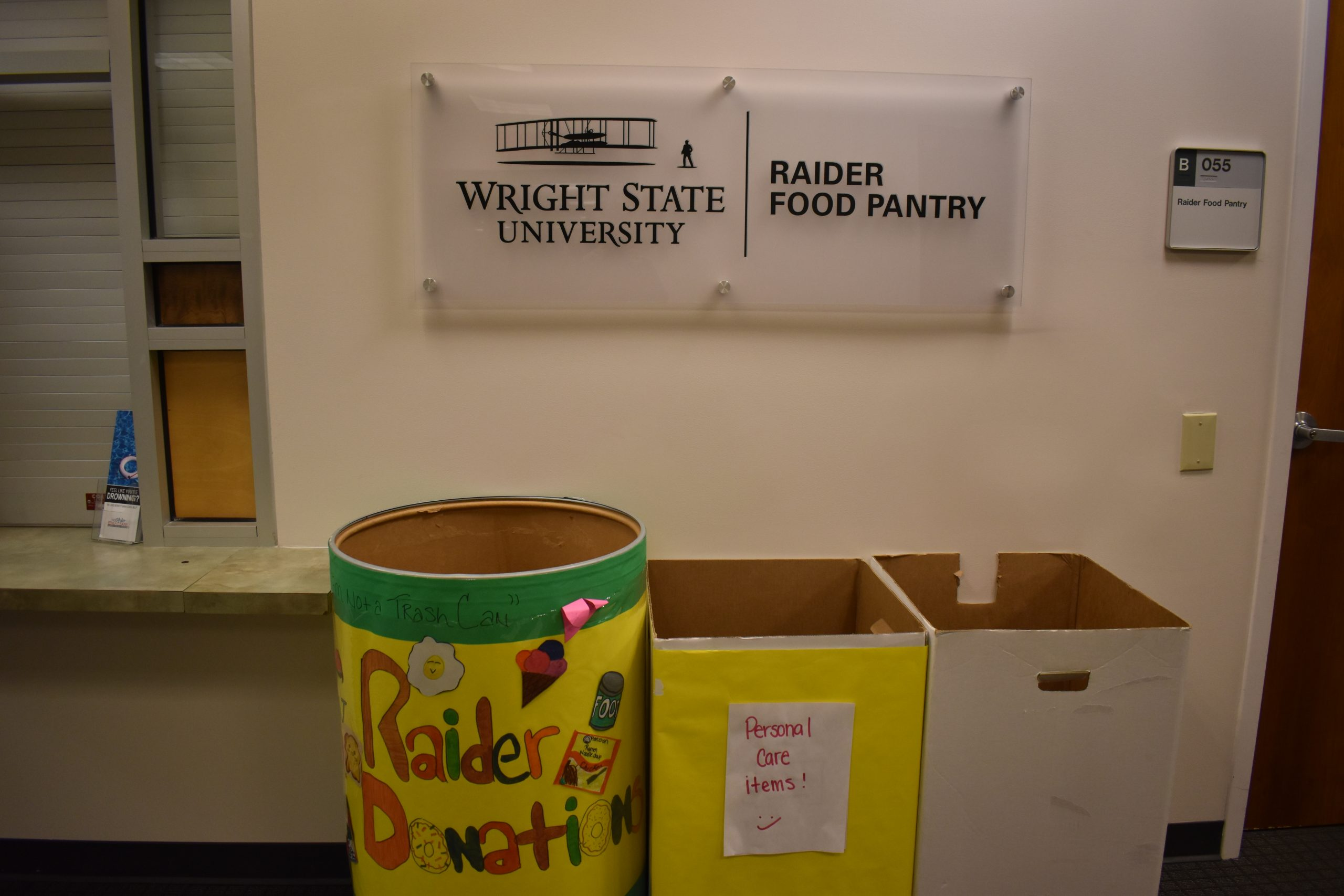 Raider Food Pantry | Photo by Grace Ramsdell | The Wright State Guardian