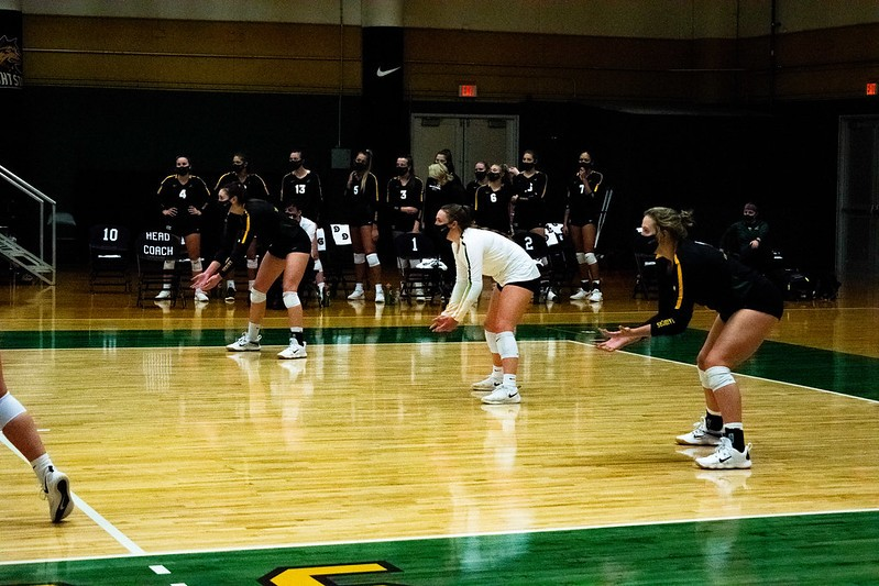 Volleyball | Photo by Diana Jaber | The Wright State Guardian