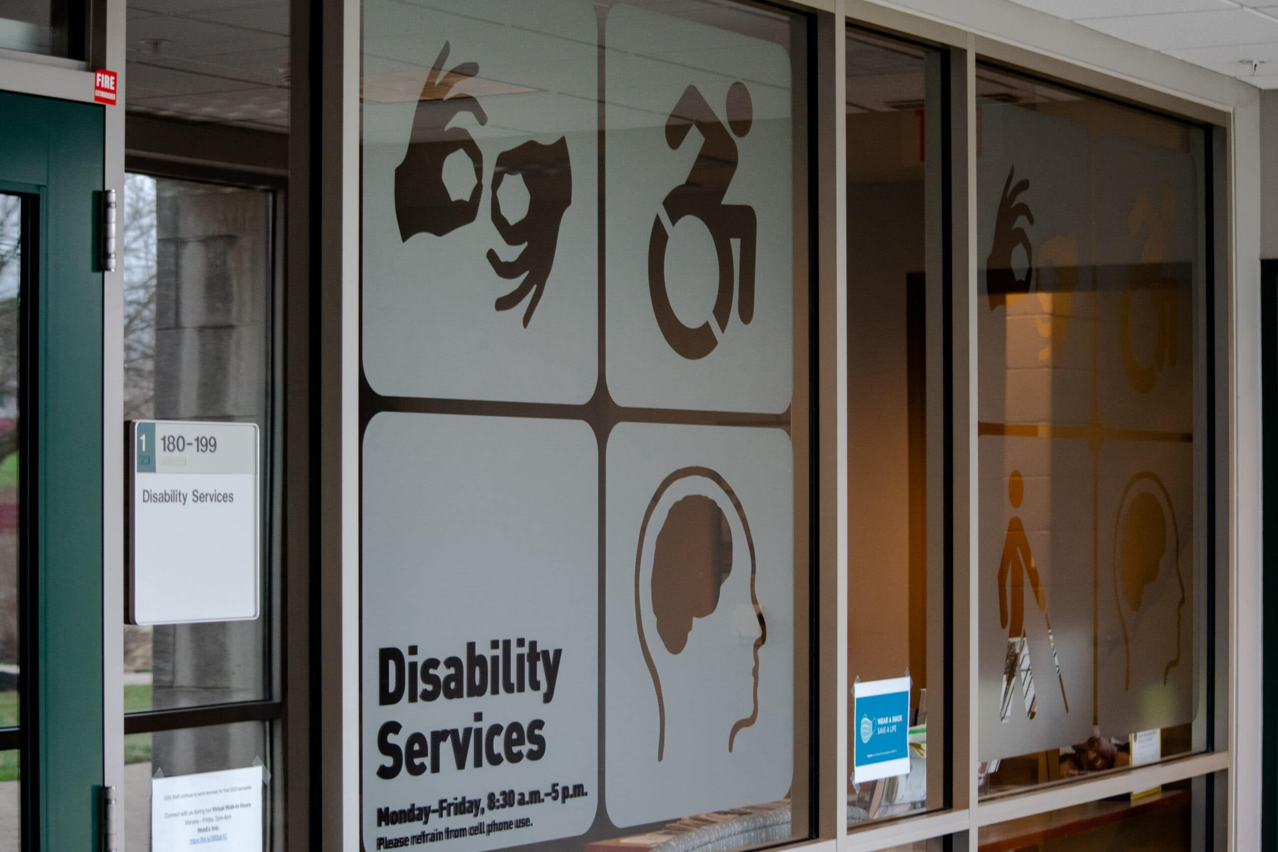 The Office of Disability Services at University Hall