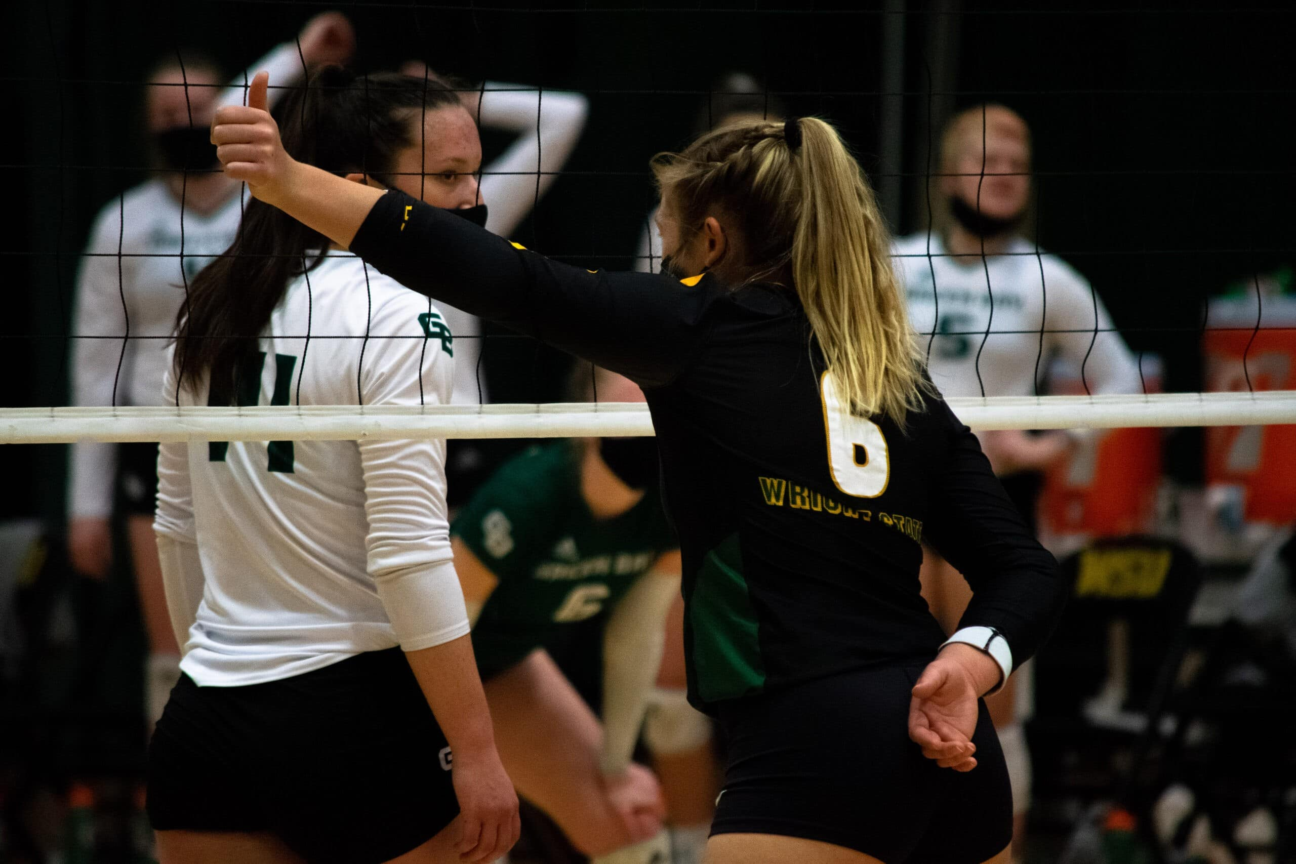 Wright State Raiders vs. Green Bay Women's Volleyball Game on March 22, 2021