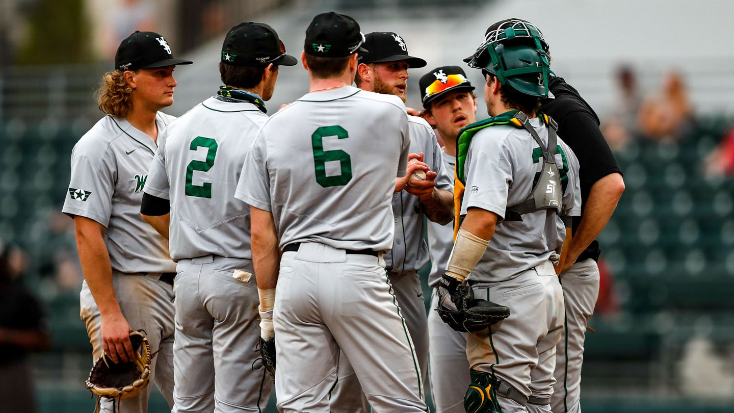 The Wright State Baseball team