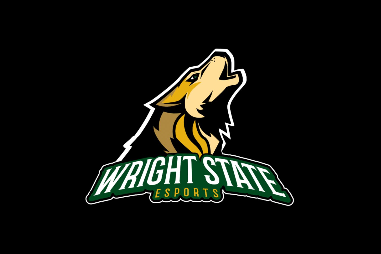 Logo of the Collegiate eSports club at Wright State University
