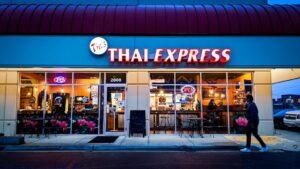 Photo of the entrance to Tik's Thai Express restaurant