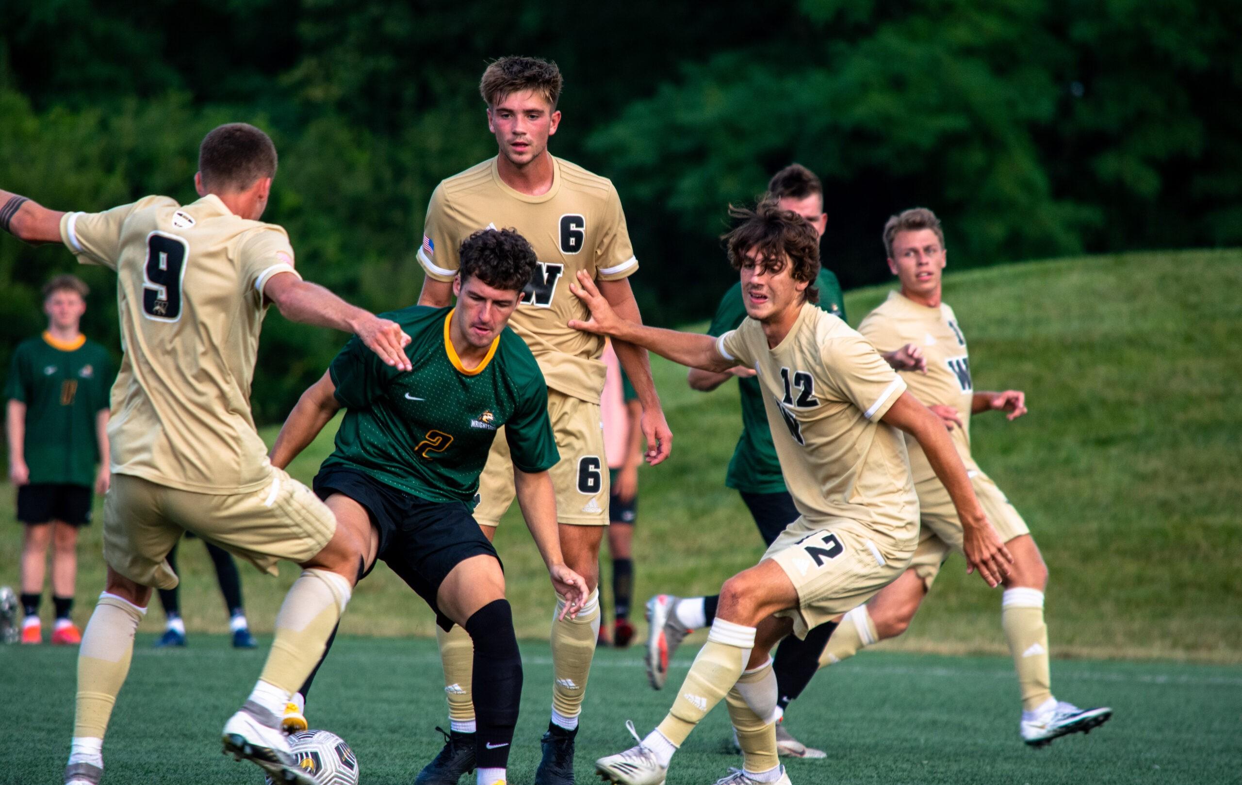 wright state men's soccer team