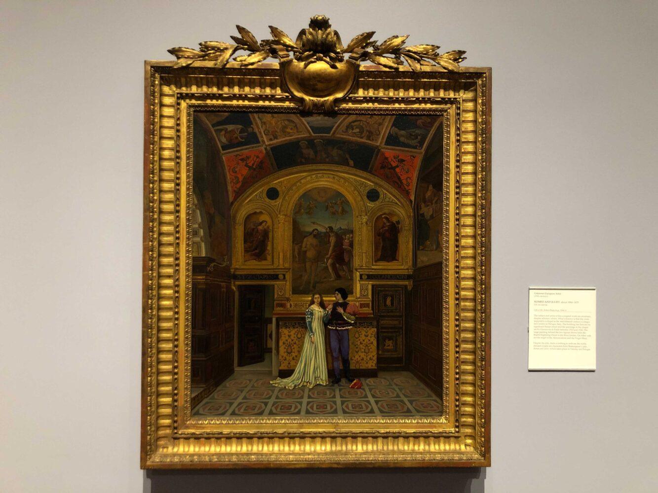 Art piece at Dayton Art Institute