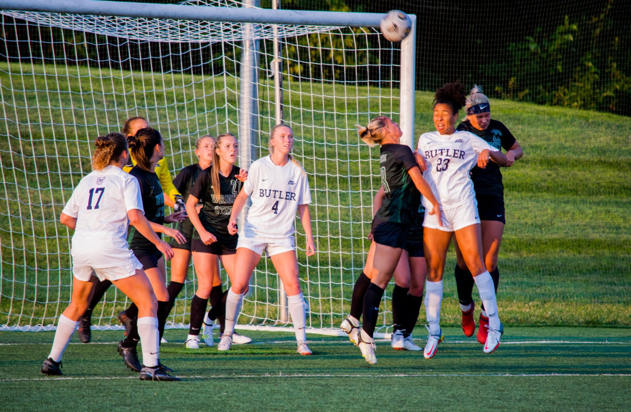 Raiders vs. Butler Women's Soccer Game |