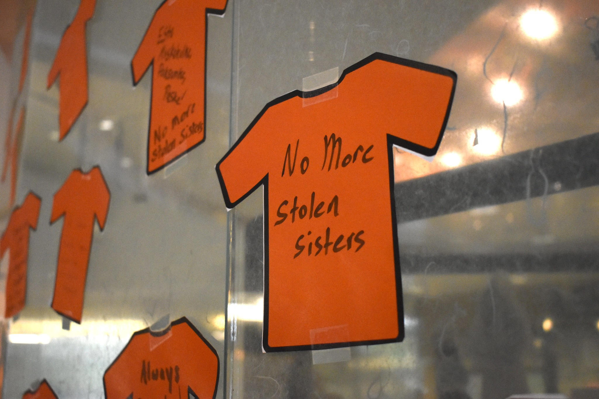 """No More Stolen Sisters"" Paper Shirt"