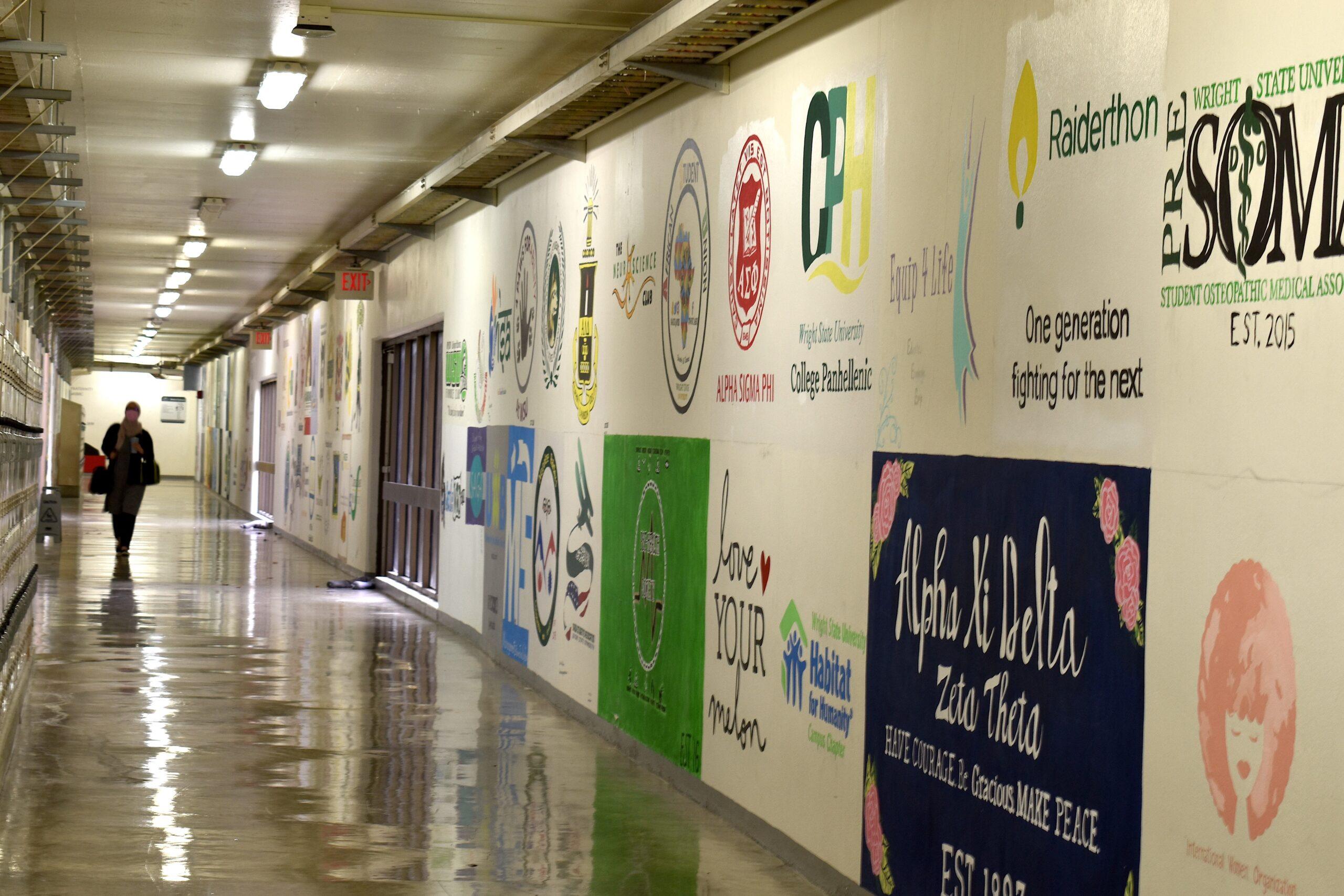WSU Tunnel Paintings