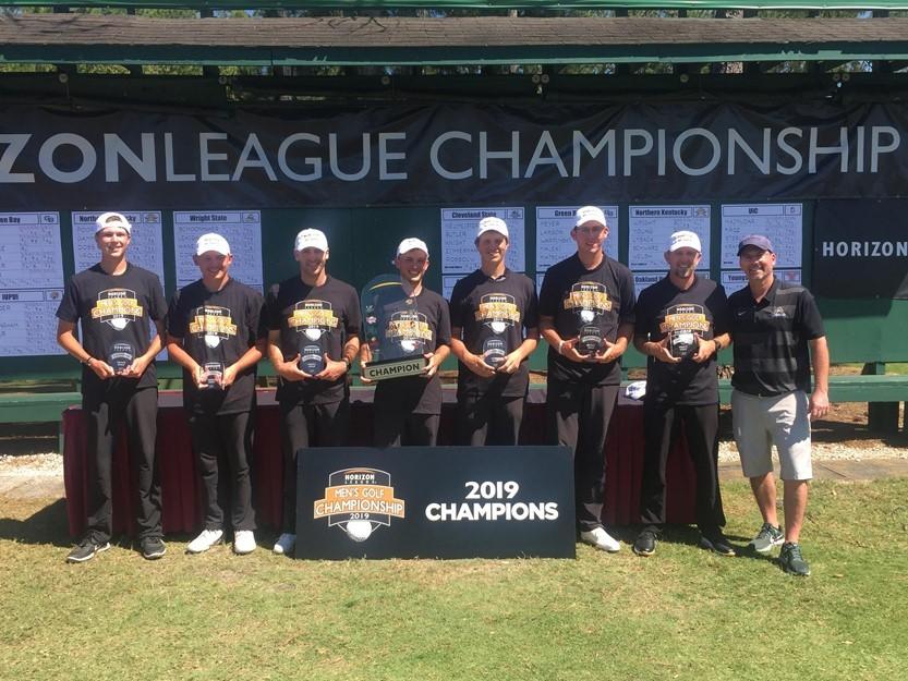 WSU Men's Golf 2019 Horizon League Champions